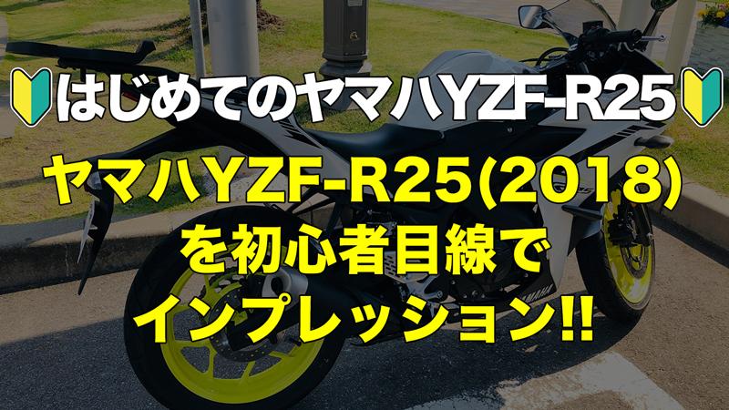 ヤマハYZF-R25レビュー