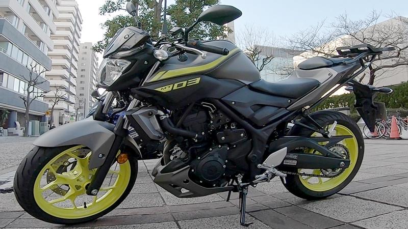ヤマハMT-03(BK)