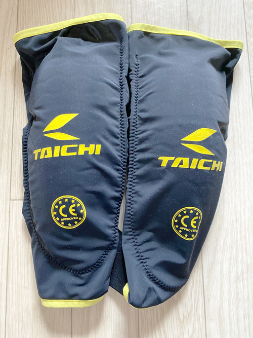 RS TAICHI ステルス CE ニーガード(ハード)『TRV045』レビュー